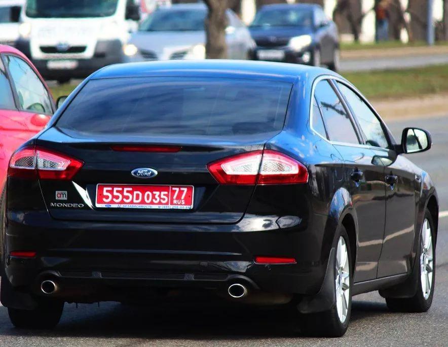 За какое нарушение полиция может снят номера с машины